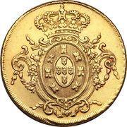 6400 Réis - João, Prince Regent – reverse