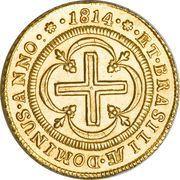 4000 Réis - João, Prince Regent – reverse