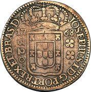 320 Réis - José I – obverse