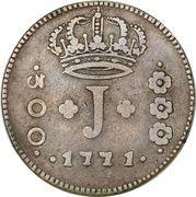 300 Réis - José I – obverse