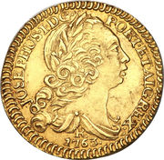 1600 Réis - José I – obverse