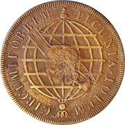 40 Réis - João Prince Regent (Countermarked 20 Réis) – reverse