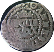 50 Réis - João IV (Countermarked 2 Vinténs) – obverse