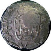 250 Réis - Afonso VI (Countermarked 200 Réis) -  obverse