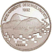 2000 Cruzeiros (Conference On Environment & Development) – obverse