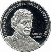 2 Reais (Ayrton Senna) – obverse