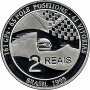2 Reais (Ayrton Senna) – reverse