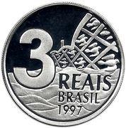 3 Reais (Belo Horizonte) – reverse