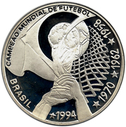 4 Reais (4th World Cup Championship) – obverse