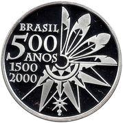 5 Reais (Discovery of Brazil) – obverse
