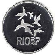 5 Reais (XV Pan-American Games) – obverse