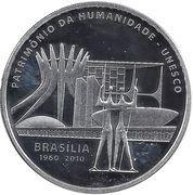 5 Reais (Brasília) – obverse