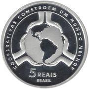 5 Reais (Cooperatives) – reverse