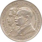 2000 Réis (Independence Centennial) – obverse