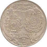 2000 Réis (Independence Centennial) – reverse
