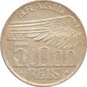 5000 Réis (Santos Dumont) – reverse