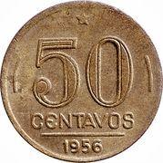 50 Centavos (Eurico Gaspar Dutra) – reverse