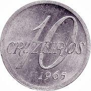 10 Cruzeiros – reverse