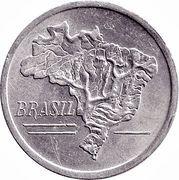 20 Cruzeiros (Brazil's map) – obverse