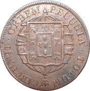 20 Réis - João VI – reverse