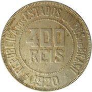 400 Réis – reverse