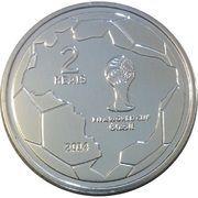 2 Reais (FIFA World Cup 2014 - Saving the Ball) – reverse