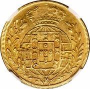 6400 Réis - João VI – reverse