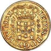 2000 Réis - Pedro II – obverse