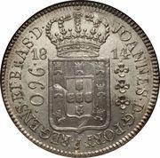 960 Réis - João Prince Regent -  obverse