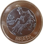 1 Real (Olympic Games Rio 2016 - Judo) – obverse