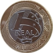 1 Real (Olympic Games Rio 2016 - Judo) -  reverse