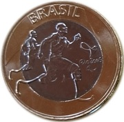 1 Real (Olympic Games Rio 2016 - Paralympic Athletics) -  obverse