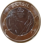 1 Real (Olympic Games Rio 2016 - Soccer) -  obverse