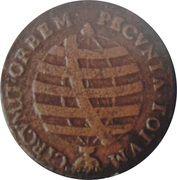 20 Réis - José I (Brazil Mint) – reverse