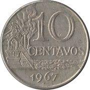 10 Centavos (non magnetic) -  reverse