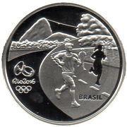5 Reais (Olympic Games Rio 2016 - Running / Sambodrome) – obverse