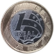 1 Real (Olympic Games Rio 2016 - Basketball) -  reverse