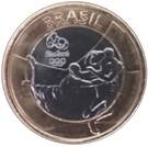 1 Real (Olympic Games Rio 2016 - Rugby) – obverse