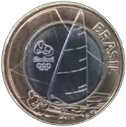 1 Real (Olympic Games Rio 2016 - Sailing) -  obverse