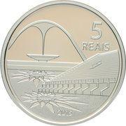 5 Reais (Olympic Games Rio 2016 - Running / Sambodrome) – reverse