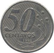 50 Centavos (Rio Branco; copper-nickel) -  reverse