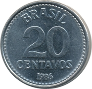 20 Centavos -  reverse