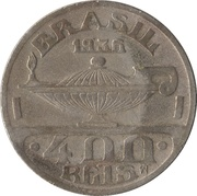 400 Réis (Oswaldo Cruz) – reverse