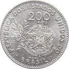 200 Réis - Liberty – reverse