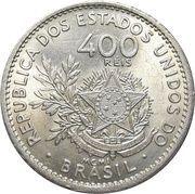 400 Réis - Liberty – reverse
