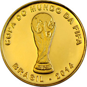 10 Reais (FIFA World Cup 2014) – obverse