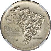 2 Cruzeiros (Pattern Strike) – obverse