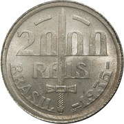 2000 Réis (Duke of Caxias) – obverse