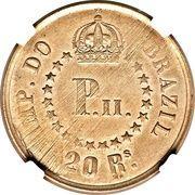 20 Réis Copper (Pattern Strike) – reverse