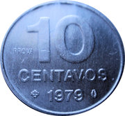 10 Centavos (Prova) – reverse